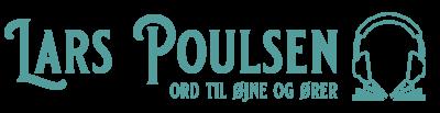 Lars Poulsen - ord til øjne og ører logo